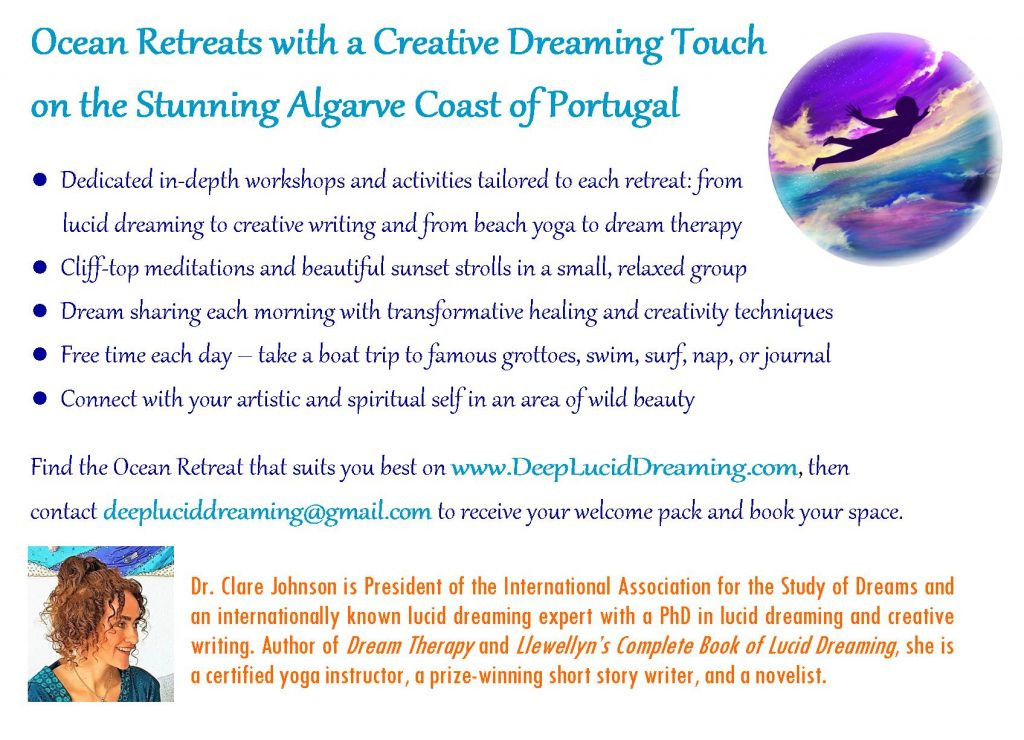 Lucid Dreaming Ocean Retreats description