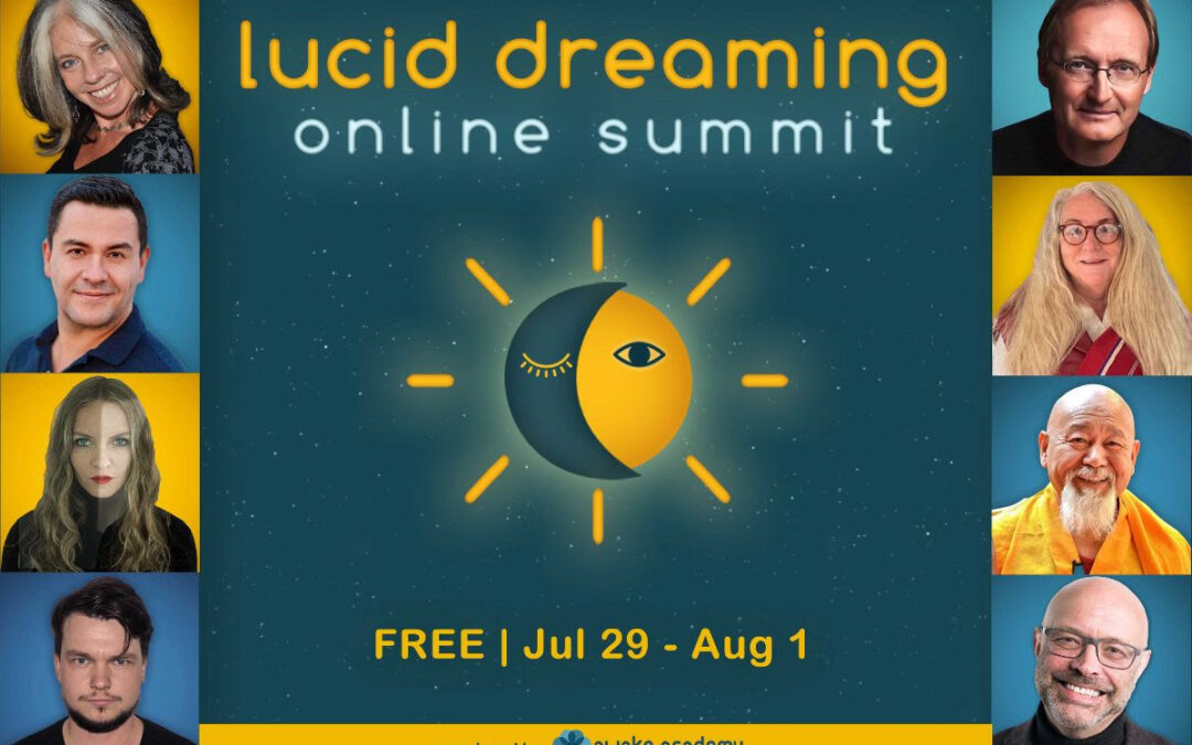 Lucid Dreaming Online Summit starts soon!